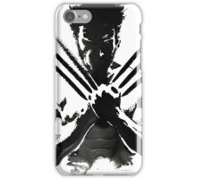 Wolverine painting  iPhone Case/Skin