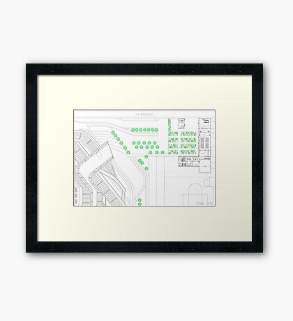 parterre Framed Print