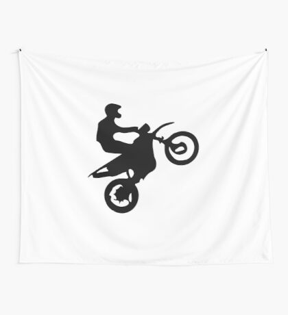 Motor Cross Wall Tapestry
