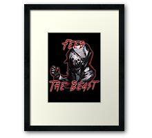 Feed The Beast Framed Print