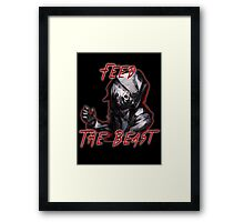 Feed The Beast Framed Print