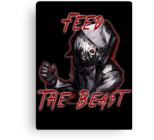 Feed The Beast Canvas Print