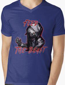 Feed The Beast Mens V-Neck T-Shirt