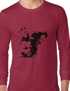 Ink stain Crazy Long Sleeve T-Shirt