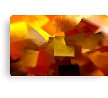 Cubistic Tendencies Canvas Print