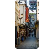 Drosselgasse Alley Ruedesheim, Germany iPhone Case/Skin