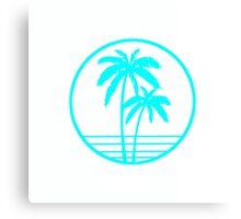 California beach club Canvas Print