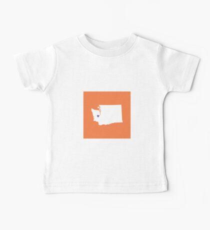 Washington Love Baby Tee