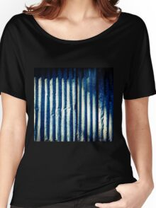 Aussie Corrugated Galvanised Iron #8 Women's Relaxed Fit T-Shirt