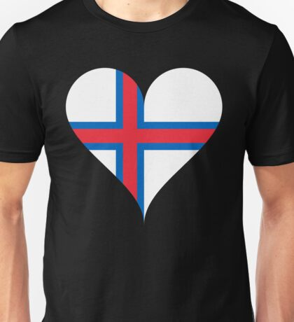 Faroe Islands Flag Unisex T-Shirt