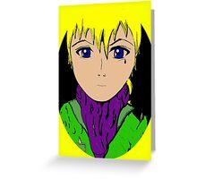 Anime Greeting Card