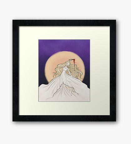 Prophecy Girl Framed Print