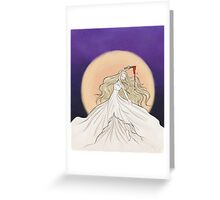 Prophecy Girl Greeting Card
