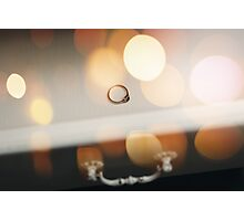 Wedding Details. Engagement Ring.  Photographic Print