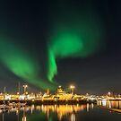 Lights of the night I by Ólafur Már Sigurðsson