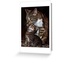 Momma & Babe Greeting Card