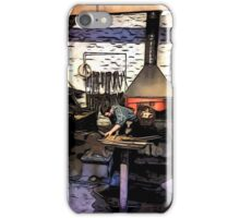 THE CLEVER IRONMONGER iPhone Case/Skin