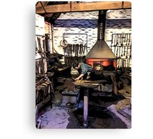 THE CLEVER IRONMONGER Canvas Print