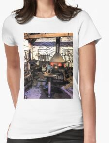 THE CLEVER IRONMONGER Womens Fitted T-Shirt