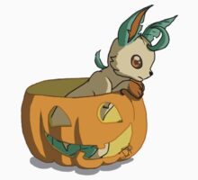 Spooky Leafeon by AwkwardHandsome