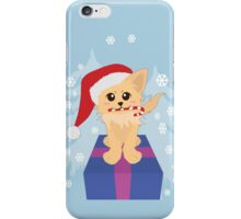Christmas Puppy iPhone Case/Skin