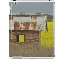 Red Brick & Yellow Fields iPad Case/Skin