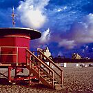 Jetson's Lifeguard Stand by Bill Wetmore