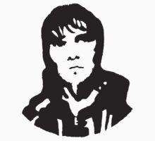 Ian Brown pop art on wallpaper by Gang0fgin