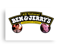 Ben and Jerry's  Canvas Print