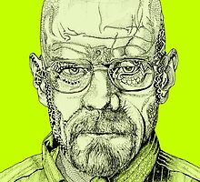 Walter White Portrait by JonRowland