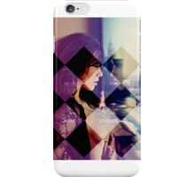 Watch me getting undress iPhone Case/Skin