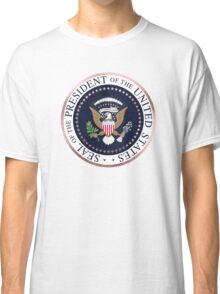 Presidential Seal, Faux Rose Gold Classic T-Shirt