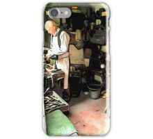 THE CLEVER SHOEMAKER iPhone Case/Skin