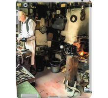 THE CLEVER SHOEMAKER iPad Case/Skin