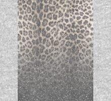 Shimmer (Snow Leopard Glitter Abstract) Long Sleeve T-Shirt
