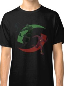 Green and Red Classic T-Shirt