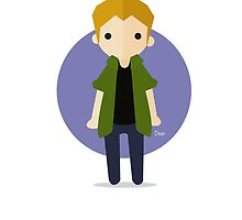 Dean Winchester by TirzahDesigns