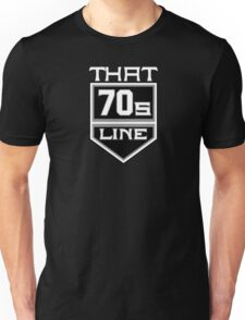 T7L Modern - White Text T-Shirt