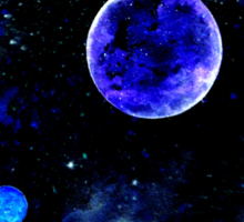 The Blue Planets Sticker
