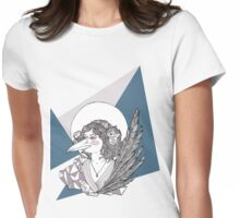 Magpie Lady Womens Fitted T-Shirt