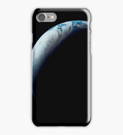 Crescent Earth taken from the Apollo 4 mission. iPhone Case/Skin