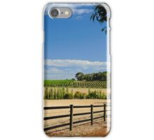 The Vineyard On The Hill iPhone Case/Skin