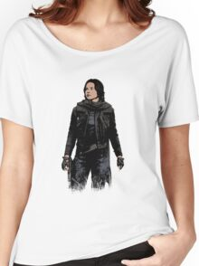 Jyn Erso - Star Wars: Rogue One - Black Women's Relaxed Fit T-Shirt
