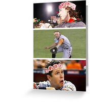 Giants in Flower Crowns (◡‿◡✿) Greeting Card