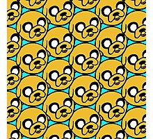 Jake the Dog Sketchy Pattern Photographic Print