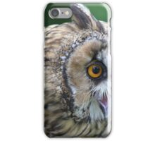 Long eared owl iPhone Case/Skin