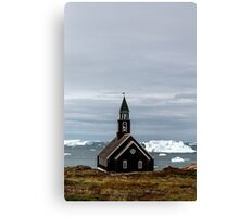 Church in the Wilderness Canvas Print