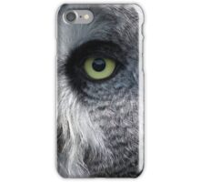 Grey owl ? iPhone Case/Skin