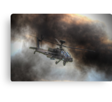 Apache HDR  - Dunsfold Wings and Wheels 2014 Canvas Print