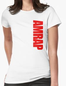 AMRAP Womens Fitted T-Shirt